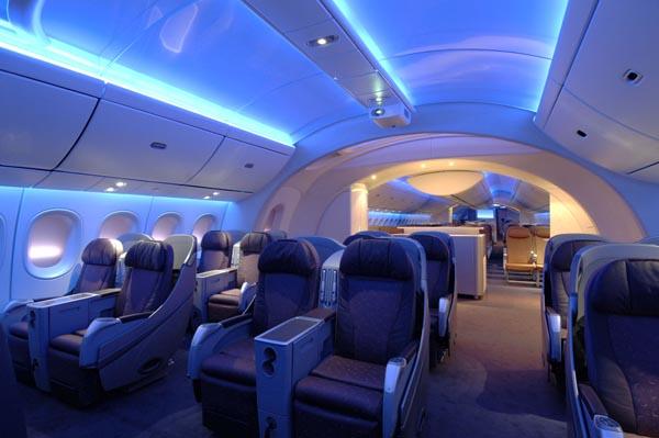 Cabin In The Sky Boeing 787