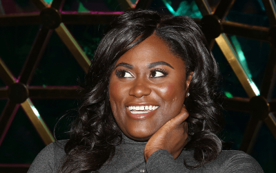 Danielle Brooks of the Broadway musical - The Color Purple.