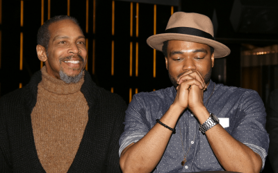 Kevin Morrow and Antoine L. Smith of the Broadway musical - The Color Purple.