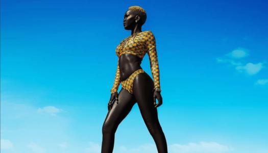 Is Model Nyakim Gatwech too Black?