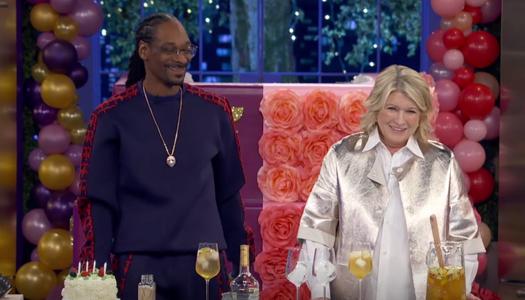 Snoop Dogg & Martha Stewart Cook It Up