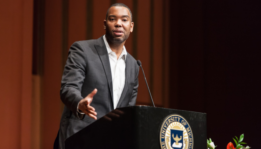 In new book, the prolific Ta-Nehisi Coates explains first white president